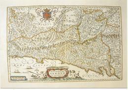 X2312 Cartolina Postale - Vaticano - Carta Geografica Map Carte Geographique - Riviera Di Genova Da Levante - Carte Geografiche