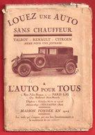 Paris && Environs De Paris Gastronomiques Juillet 1927 ... (  Ref 14 176  ) - Geographical Maps