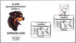 ROTTWEILER HUND. Perro - Dog. Rottweil 2012 - Perros