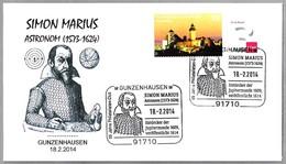 Astronomo SIMON MARIUS (1573-1624) - Descubridor Lunas De Jupiter. Astronomer. Gunzenhausen 2014 - Astronomùia