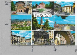 CARTOLINA NV ITALIA - PERUGIA - Vedutine - Multivue - 10 X 15 - Perugia