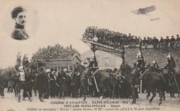 """COURSE D'AVIATION - PARIS-MADRID - Mai 1911 Issy-les-Moulineaux Départ  - GAROS Sur Monoplan """"Blériot"""" ... - ....-1914: Precursors"""