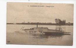 76  CAUDEBEC EN CAUX   PASSAGE DU BAC   2 SCANS - Caudebec-en-Caux