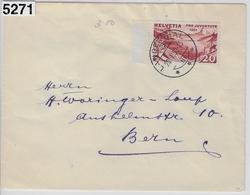 1931 Pro Juventute J59/248 Langenthal To Bern 20.I.32 - Pro Juventute