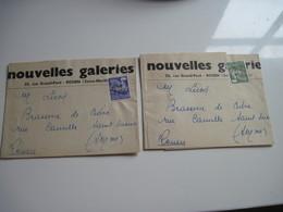 Bande Journaux Nouvelles Galeries Franchise Poste X 2 - Other