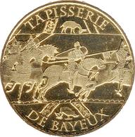 14 BAYEUX TAPISSERIE N°2 LES CHEVAUX MÉDAILLE MONNAIE DE PARIS 2017 JETON MEDALS TOKEN COIN - Monnaie De Paris