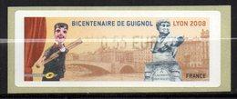 Vignette LISA // Bicentenaire De Guignol //   Lyon 2008 - 1999-2009 Illustrated Franking Labels