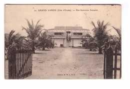 Cote D' Ivoire Une Factorerie Française Cachet 1908 - Ivory Coast