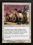 TRADING CARD - MAGIC - Carnage - 11 / 350 - Créature : Soldat : Escadron Des Catapultes - Peu Commune - VF - Magic The Gathering
