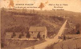 Bra S/ Lienne- Hôtel Du Pont De Vilettes - Pays Merveilleux (animée, Oldtimer Desaix 1930) - Lierneux