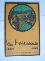 Le Hainaut 1930 Centenaire Indépendance Belgique Dépliant Circuits Form 14 X 21 Cm - Tourism Brochures