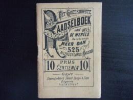 Raadselboek 525 Uitg Snoeck Gent Pierrot Form 9,5 X 14,5 Cm - Other Collections