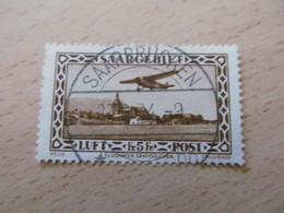 E1819) Saar O Flugpost Nr 198 - 1920-35 Saargebiet – Abstimmungsgebiet