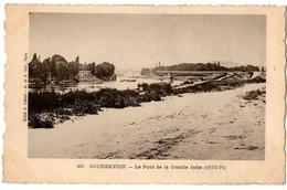 92-186 COURBEVOIE Île De La Jatte Pont Dynamité 1870-1871 - Courbevoie
