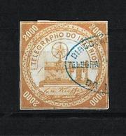 Brasil 1873 Telegrafos Usado - Brasil