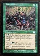 TRADING CARD - MAGIC - Carnage - 295 / 350 - Créature : Bête : Brackus Lance Venin - Peu Commune - VF - Carte Verdi