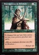 TRADING CARD - MAGIC - Carnage - 304 / 350 - Créature : Elfe : Sauvageonne De Brinbois - Commune - VF - Carte Verdi
