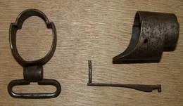 Embouchoir + Agrafe Et Anneau Grenadiere De Fusil GRAS 1874 - Decorative Weapons