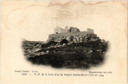 CPA CORSE Calvi- N.-D. De La Serra D'ou Les Anglais Bombardérent. (711504) - Calvi