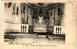 CPA CORSE Calvi- Intérieur De L'Eglise De N.-D. De La Serra. (711506) - Calvi