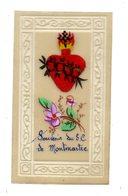IMAGE RELIGIEUSE PIEUSE . Peint Main .Souvenir Du S. C. De Montmartre - Devotion Images