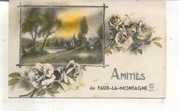 Amitiés De Faux La Montagne - France