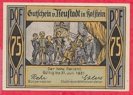 Allemagne 1 Notgeld 50 Pfenning Neustadt In Holstein Lot N °1612  Dans L' état (RARE) - [ 3] 1918-1933 : Weimar Republic