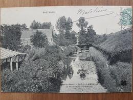 Lamballe.la Rivière Du Gouessant.édition MTIL 1823 - Lamballe