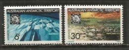 Traité De L'Antarctique.  2 T-p Neufs *  (trace Charnière)  Côte  12,00 € - Australian Antarctic Territory (AAT)