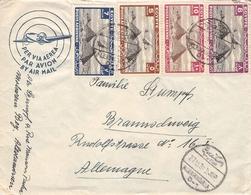 EGYPT - AIR MAIL LETTER 1939 ALEXANDRIA -> BRAUNSCHWEIG/ALLEMAGNE - Luftpost