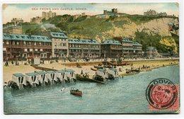 CPA - Carte Postale - Royaume-Uni - Dover - Sea Front Castle  - 1909 (CP3242) - Dover