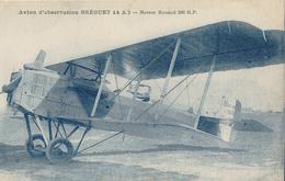 """Avion D'observation """" Bréguet """" 14A2 - Moteur Renaud 200 H.P. - 1914-1918: 1ère Guerre"""