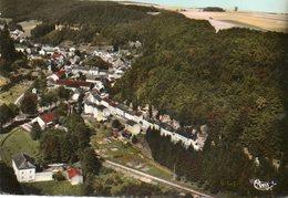 CPSM Dentelée - LAROCHETTE (Luxembourg) - Vue Aérienne Du Bourg Dans Les Années 60 - Larochette