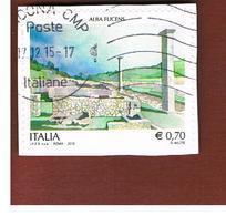 ITALIA REPUBBLICA  -   2013   -  ALBA FUCENS  -   USATO  ° - 6. 1946-.. Repubblica