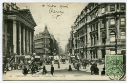 CPA - Carte Postale - Royaume-Uni - London - Cheapside - Looking West - 1915 (CP3246) - Other
