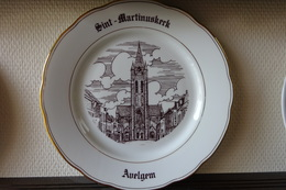 * Avelgem (Kortrijk - Courtrai) * 1 Uniek Bord Magvam Porselein Van Avelgem (bij Kortrijk) - Ceramics & Pottery