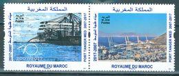 MAROC MOROCCO MARRUECOS 10IEME ANNIVERSAIRE PORT TANGER MED 2007-2017 - Morocco (1956-...)