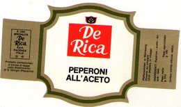 B 1816 - Etichetta, De Rica - Frutta E Verdura