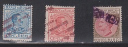 ITALY 3 Used Revenue Stamps - Italy