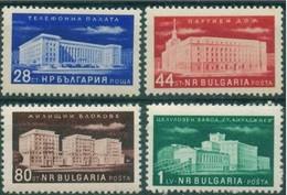 Building - Bulgaria / Bulgarie 1955 - Set MNH** - 1945-59 People's Republic