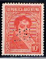 ARG 525 // Y&T 370 (PERFORÉ) // 1935-36 - Argentina