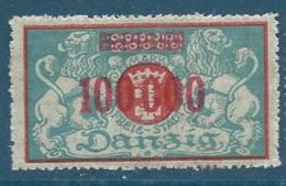 Dantzig - Yvert N°  146  *  -    Pa16516 - Danzig
