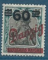 Dantzig   -     - Yvert N°  72 *   -    Pa16530 - Danzig
