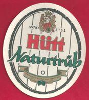 Bière Hütt Naturrtüb - Sous-bocks