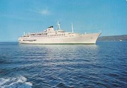 Croatia Jadrolinija Rijeka Ship M/s Dalmacija - Barche