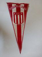 Estudiantes De La Plata Argentine 1967 Fanion Football Banderin Fútbol Argentina Soccer Old Pennant Portugal Sporting - Habillement, Souvenirs & Autres