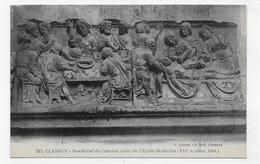 CLAMECY - N° 317 - BAS RELIEF DE L' ANCIEN JUBE DE L' EGLISE ST MARTIN - CPA NON VOYAGEE - Clamecy