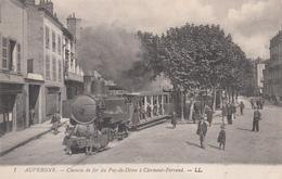 CPA - 63,  AUVERGNE - Chemin De Fer Du Puy-de-Dome A Clermont-Farrand - LL - Auvergne Types D'Auvergne
