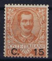 Italy   Sa 79 Mi Nr 86  MH/* Flz/ Charniere  1905 - 1900-44 Victor Emmanuel III.