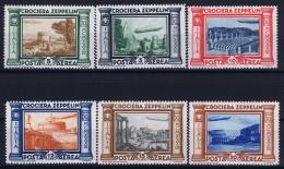 Italy Sa 45 - 50  Mi 439 - 444 Postfrisch/neuf Sans Charniere /MNH/** Croceira Zepplin 1933 - 1900-44 Victor Emmanuel III